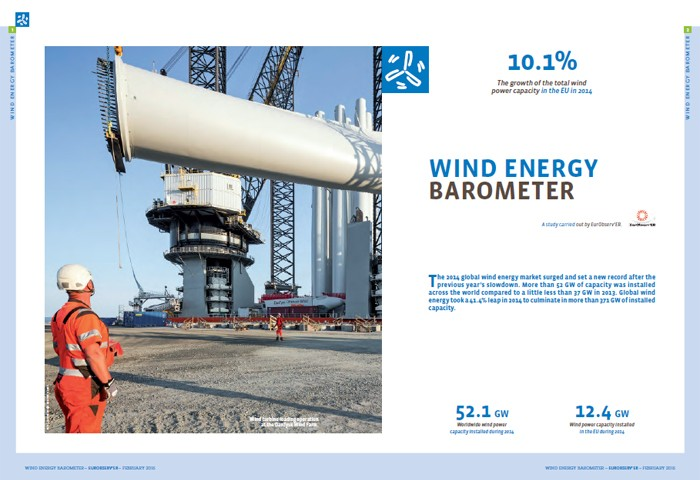Wind energy barometer 2015